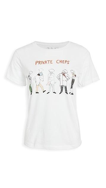 Unfortunate Portrait Private Chefs T 恤