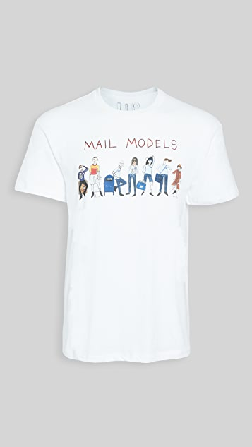 Unfortunate Portrait Short Sleeve Mail Models Tee