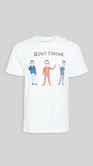 Unfortunate Portrait Short Sleeve Bono Chrome Tee