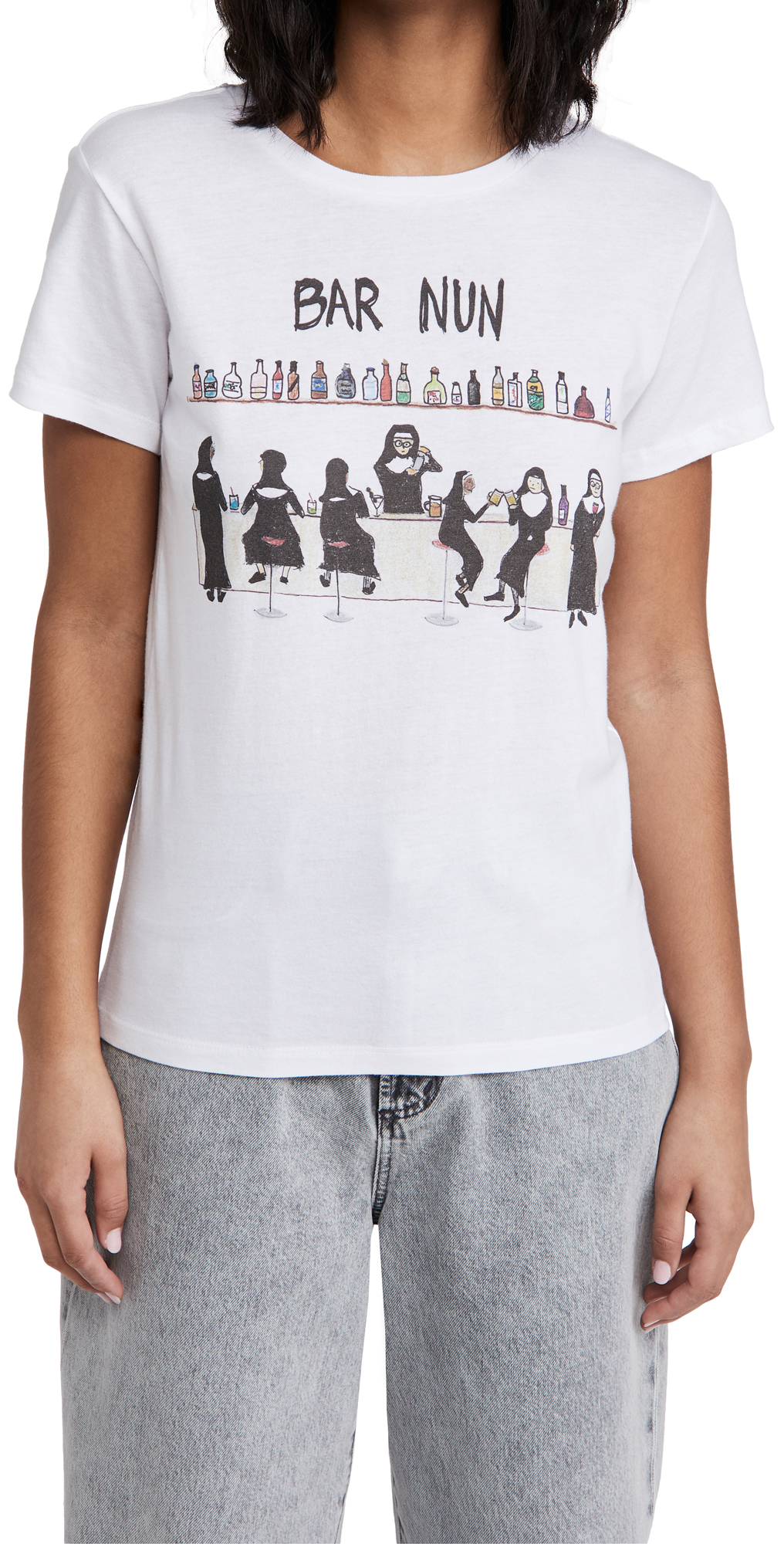 Unfortunate Portrait Bar Nun Tee