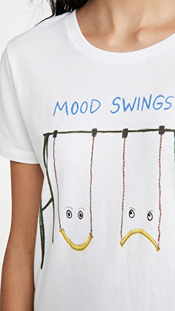 Unfortunate Portrait Mood Swings Tee