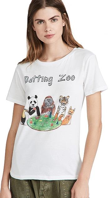 Unfortunate Portrait Betting Zoo Tee