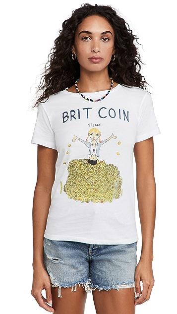 Unfortunate Portrait Brit Coin Tee