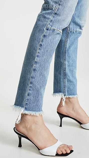 Unravel Project High Rise Boyfriend Jeans