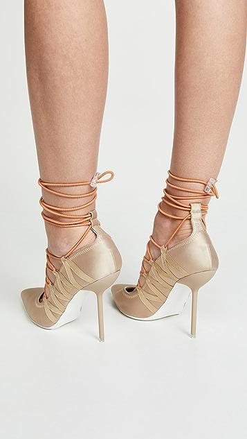 Unravel Project 细高跟浅口鞋