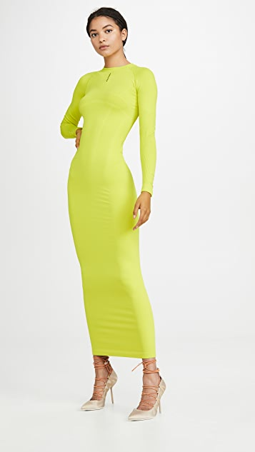 Unravel Project Tech Lined Maxi Dress