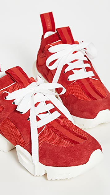 Unravel Project Double Tongue Sneakers