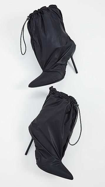 Unravel Project Нейлоновые ботильоны без задников