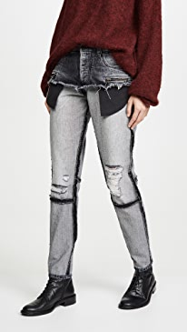 Moonwash Double Layer Jeans