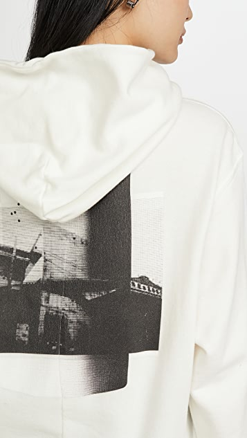 Unravel Project Толстовка с капюшоном Unr Building из махровой ткани