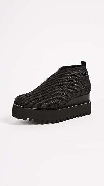 United Nude Fold Casual Platform Booties