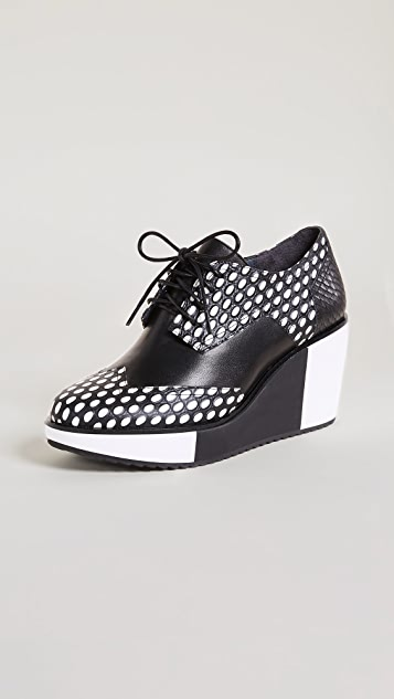 United Nude Geo Wing Platform Oxfords