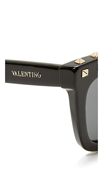 Valentino Soul Rockstud Sunglasses