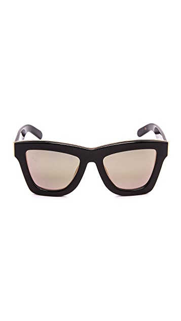 Valley Eyewear The DB Mirrored Sunglasses