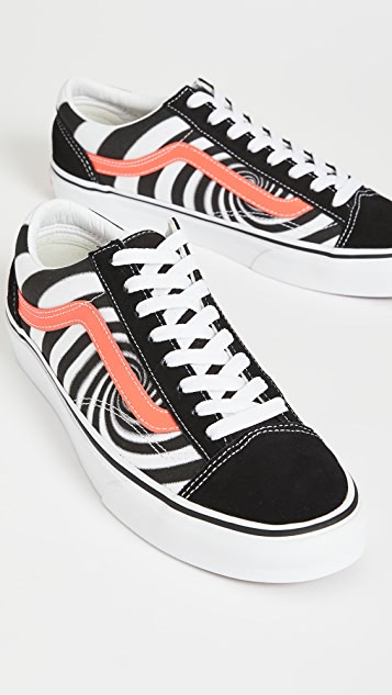 Vans Swirl Lace Up Sneakers