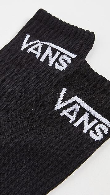 Vans 3 Pack Classic Crew Socks