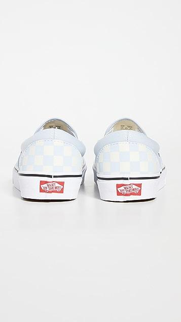 Vans Classic Slip On Checkerboard Sneakers