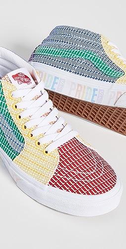 Vans - Pride Collection Sk8 Mid Sneakers