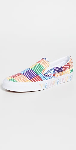 Vans - Pride Collection Classic Slip-On Sneakers