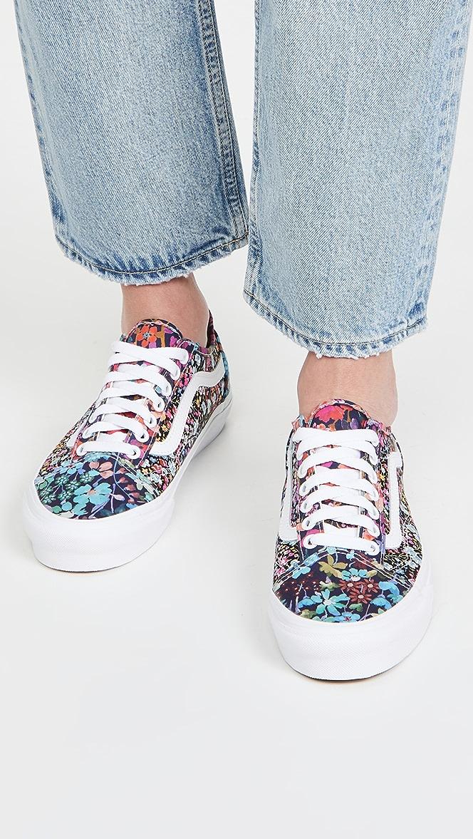 Vans Liberty Fabrics Old Skool Taper Sneakers | SHOPBOP