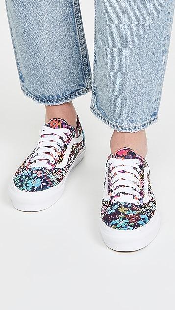 Liberty Fabrics Old Skool Taper Sneakers