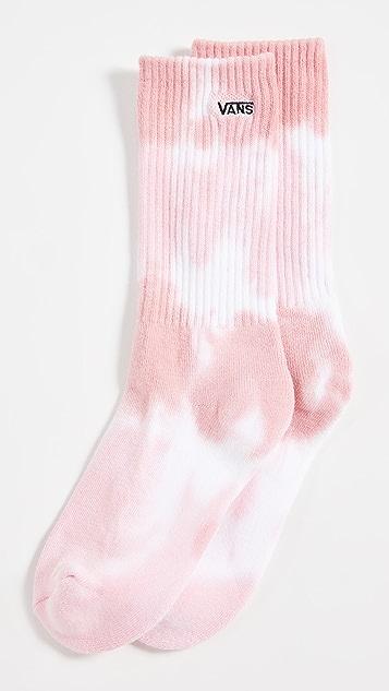 Vans 扎染中筒袜