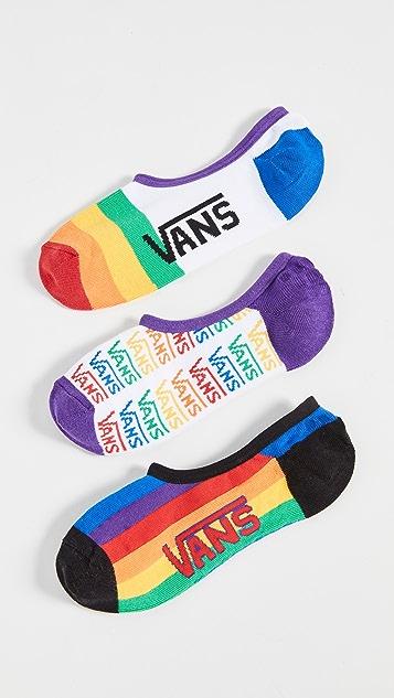 Vans Pride Canoodles 袜子 3 双装