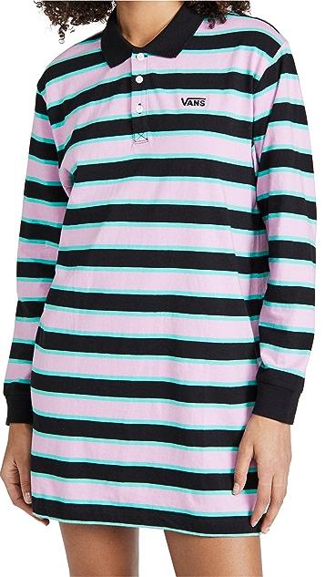 Vans Stripe Polo Dress