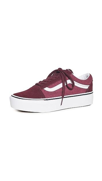 Vans Old Skool 厚底运动鞋