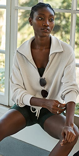 Varley - Buckingham Half Zip Sweater