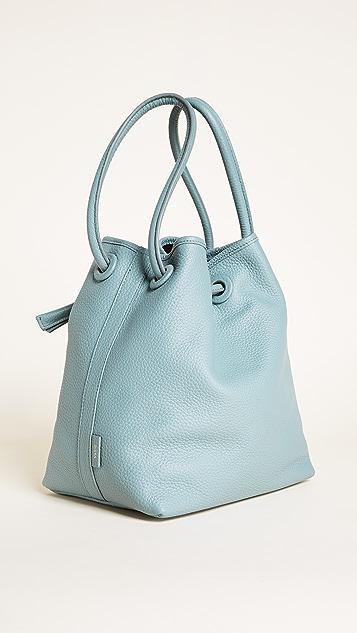 Vasic Collection Bond Drawstring Bucket Bag