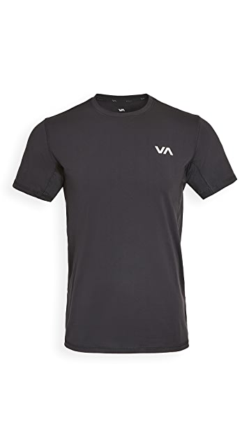 RVCA Sport VA Sport Vent Short Sleeve Tee