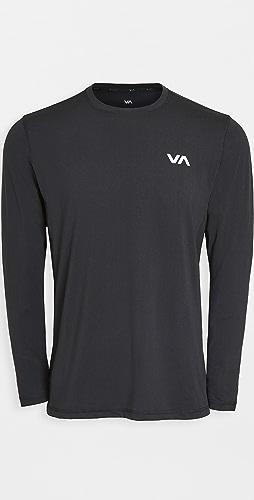 RVCA Sport - VA Sport Vent Long Sleeve Tee