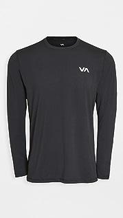RVCA Sport VA Sport Vent Long Sleeve Tee