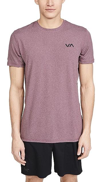 RVCA Sport Sport Vent Short Sleeve Tee