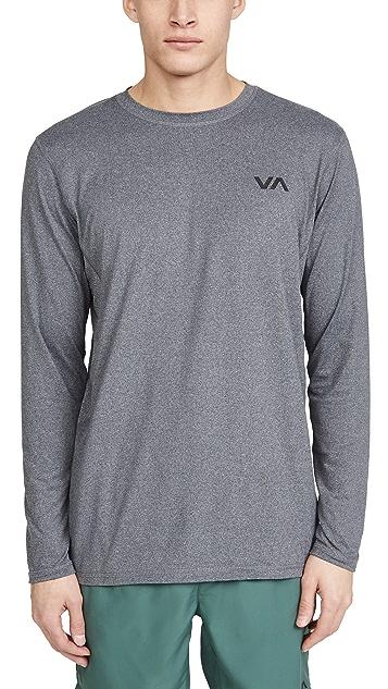 RVCA Sport VA Sport Long Sleeve Vent Tee