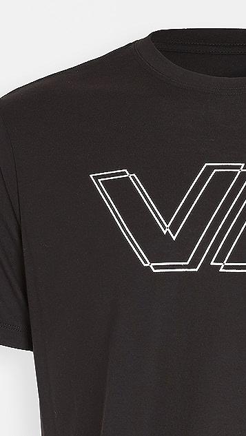 RVCA Sport VA Offset Short Sleeve Shirt