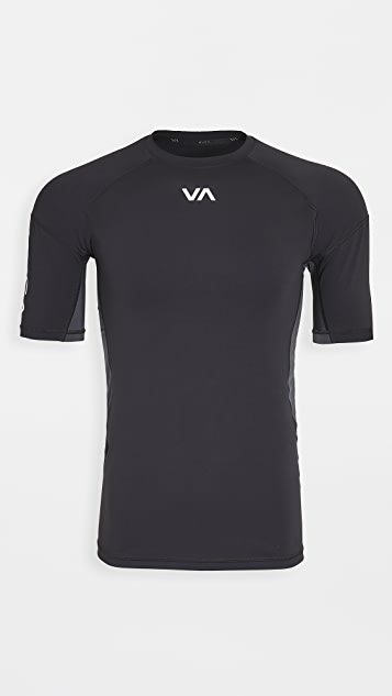 RVCA Sport Compression Short Sleeve Shirt