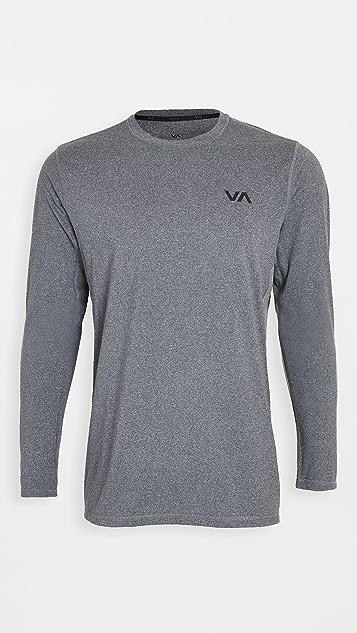 RVCA Sport Sport Vent Long Sleeve Tee