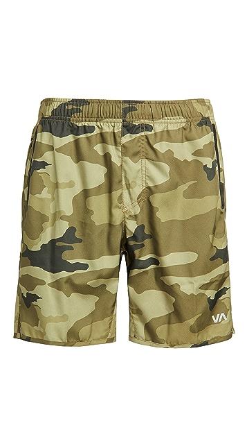 RVCA Sport VA Sport Yogger IV Shorts