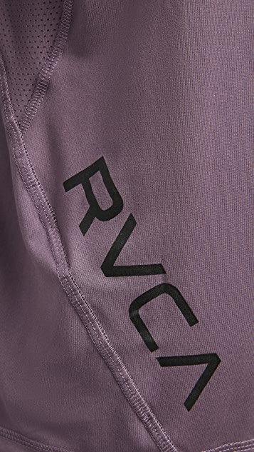 RVCA Sport VA Sport Short Sleeve Vent Tee