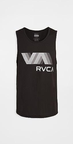 RVCA Sport - VA Sport Blur Sleeveless Tee
