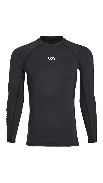 RVCA Sport VA Sport Rash Guard Top