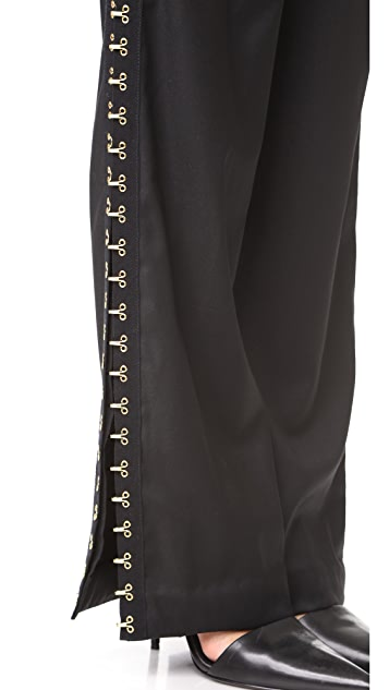 Vatanika Embellished Wide Leg Pants