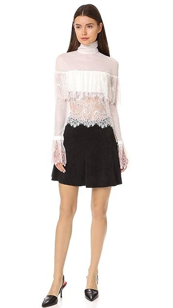 Vatanika White Lace Blouse