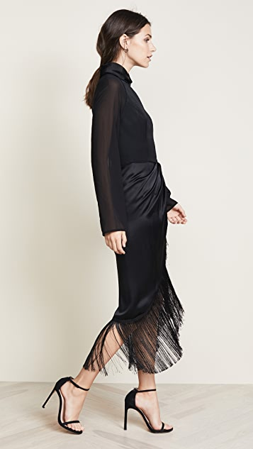 Vatanika Long Sleeve Dress