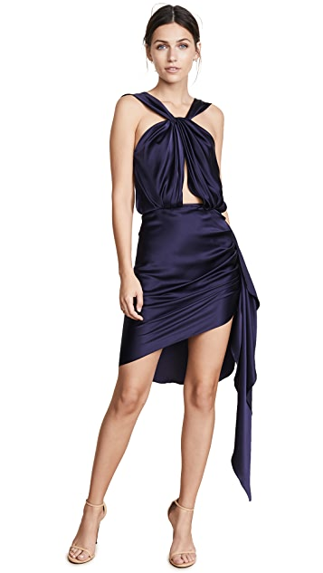 Vatanika Ruched Skirt Dress