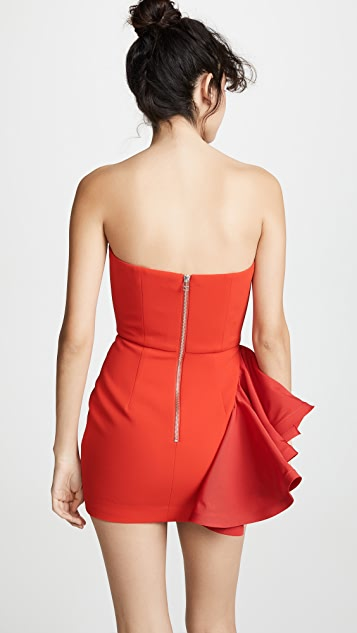 Vatanika Ruffle Mini Dress
