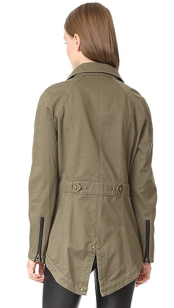 Veronica Beard Jean Army Jacket