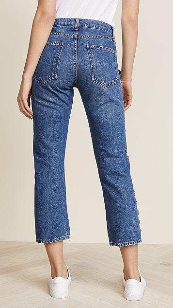 Veronica Beard Jean Ines Girlfriend Jeans